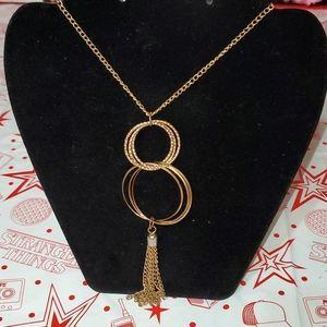 Goldtone Necklace